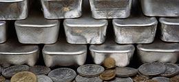 серебро-золото в слитках