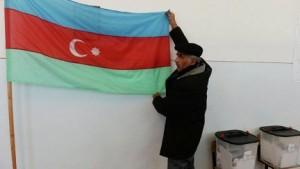 aizerbajdjan flag